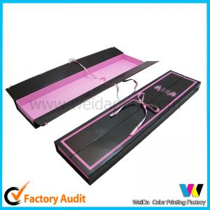 China Reusable foldable wig Braids Human Hair Packaging Boxes of Cardboard on sale