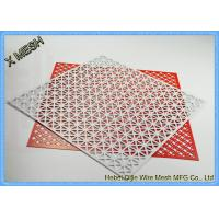 China Architectural Facades Honeycomb Perforated Sheet Metal Stainless Steel Material on sale