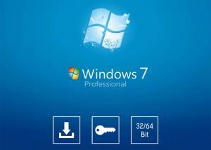 China Desktop PC System Software Genuine Microsoft Update Windows 7 SP1 64 Bit Full System Builder OEM DVD 1 Pack on sale