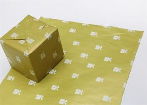 China Bright And Vivid Custom Printed Wax Paper Sheets Resist Absorbing Water on sale
