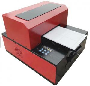 China Multifunction Desktop UV LED Flatbed Printer A3 Size 6 Color Easy Installation And Maintation on sale