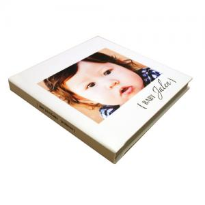 China Individual 8*6 inch Magazine Cover Photo Album for Family / Baby Anniversary on sale
