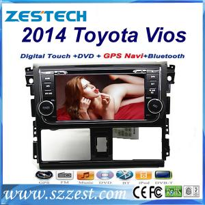 China ZESTECH Touch Screen Double Din 7 inch car dvd radio for Toyota Vios 2014/ dvd radio digital tv bluetooth on sale