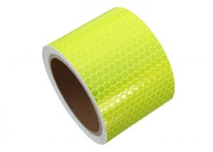 5m x 50mm Reflective Safety Tape Self Adheisive Vinyl High Intensity RED//YELLOW