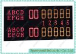 Placar eletrônico de Digitas do campo de tênis com exposição sem fio das contagens do tênis