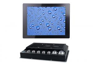 China Small 8 Inch Waterproof Industrial Panel Mounted Touch Screen PC Dustproof on sale