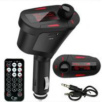Free Shipping Wireless Car MP3 Player Audio FM Radio Transmitter USB SD Card Memory Remote Kit