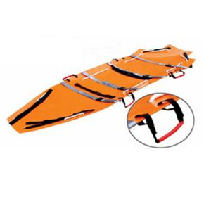 China Portable Folding Stretcher Portable Oxford Fabric Stretcher with High Strength Aluminum  Alloy on sale