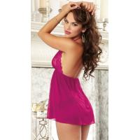 Sexy Lingerie Wholesale Ravishing In Raspberry Babydoll Sexy Lingerie Wholesale