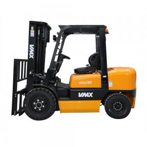 China VMAX 3 Ton Diesel Powered Forklift With Automatic Transmission CPCD30 on sale