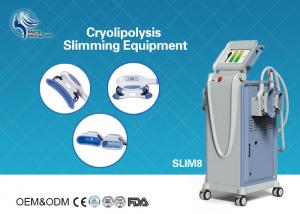 China Innovative Cryolipolysis Freeze Fat Reduction Machine with 4 Handles Work Cryotherapy With USA Pump on sale