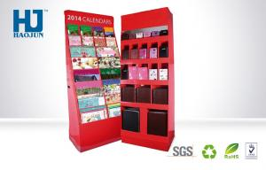 China Pop Store Cardboard Advertising Display For Calendar And Wallet on sale