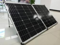 China 160W Monocrystalline Portable, Foldable Blanket Solar Panel Charger for Camping on sale
