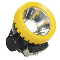 Atex certified cordless LED coal miners cap lamp, wireless mining cap light helmet light