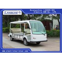 China 4 Wheel 5 Seats Electric Passenger Vehicle ,electric mini bus 48V,Luggage compartment for disabled car on sale