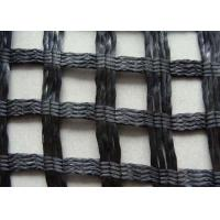 China Fiberglass Biaxial Geogrid Reinforcing Fabric Corrosion Resistance For Road on sale