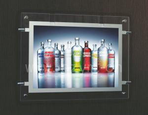 China 420x580mm crystal led light box on sale