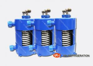 China Titanium Heat Exchanger For Salt Water Aquarium Chiller With Corrugated Tube on sale