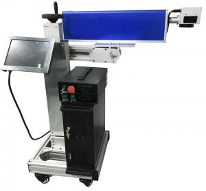 China Plastic Pipe Cable Co2 Laser Marking Machine 0.001MM Working Accuracy on sale