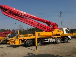 China HOT sales!!! Putzmeister  Concrete Pump Truck 42m with Volvo Chassis on sale
