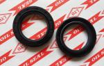 TC framework oil seal,model 35*50*8,NBR material,color is generally biack and brown.