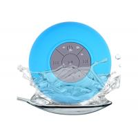 China Water Resistant Mini Wireless Bluetooth Speaker / Mini Bluetooth Shower Speaker on sale