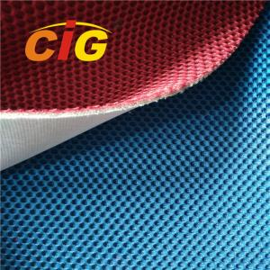 China Colorful Knitting Home Textile Fabric , Home Upholstery Polyester Mesh Fabric on sale