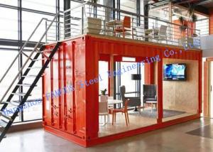 China Easy Installation Customized Modified Prefab Storage Container House For Temporary Accommodation on sale
