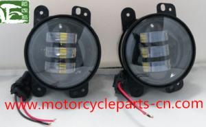 China Jeep Wrangler Off Road Fog Light Auto Parts Accessories 4 Inch 30W 12V Fog Lamp on sale