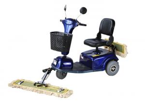China Dycon High Quality Three Wheel Dust Cart Scooter Floor Cleaning  For Station on sale