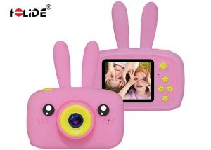 China HD 1080P Kid Friendly Digital Camera USB 2.0 Interface With Cute Rabbit Silicone Cover on sale