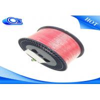G652D Bare Indoor Fiber Optic Cable Low Insertion Loss With PVC / LSZH Jacket