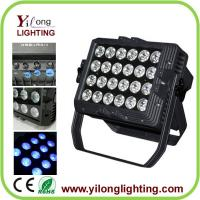 24x15W RGBAW 5in1 waterproof IP65 high power aluminum wall washer led wash light
