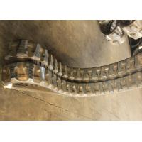 Excavator Rubber Kubota Replacement Tracks Lightweight With 84 Link