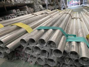 China 304L 316L Polished Stainless Steel welded Pipe Tube Sanitary Piping on sale