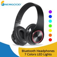 Wireless Headphones Bluetooth Earphone Foldable Adjustable Handsfree Headset with MIC for samsung xiaomi mobile phone