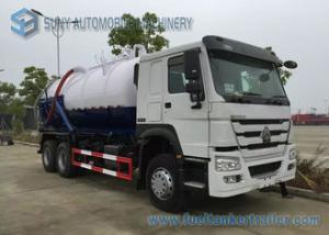 China 18000L Vacuum Tanker street cleaning vehicles 6x4 HOWO RHD Sewage Suction Truck on sale