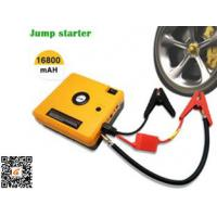 China Heavy Duty Truck Pocket Portable Car Jump Starter Yellow 16800mAH on sale