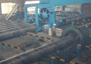 China ASTM A252 ERW Sawh Steel Pipe , Spiral Welded Tube With Iron Protector on sale