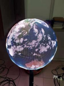 China OEM customized LED pantallas P1.9 globe sphere ball display 0.5m diameter private individual module on sale