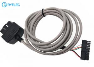 China ODB2 Male To Molex Microfit 3.0 43025-2400 With PVC Auto Car Diagnostic Extension Cable on sale