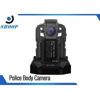 China 16GB Security Portable Body Camera , 1950mAh Battery Police Body Worn Video Camera on sale