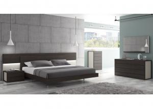 China King Size Modearn Melamine Bedroom Set/ E1 MDF/ Home Use and Hotel on sale