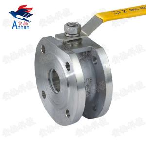 China Italian ultrathin ball valve,Clamp type ball valve with high mounting pad on sale