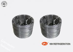 China Anti Corrosion Titanium Tubes Cooling Coil Stainless Steel Evaporator on sale
