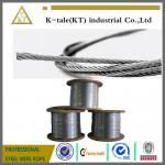 High quality 1x7 thin 304 stainless steel wire Rope/steel strand steel wire cord/steel wire rope