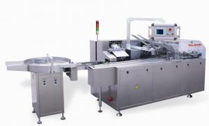 China ALU-PVC Blister / Bottle / Vial Automatic Cartoning Machine / equipment 120-160L/min on sale