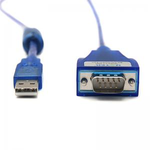 China RS232 Universal Usb To Serial Cable Converter Built In UK FTDI Chipset on sale