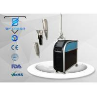 Acne Scar Removal Q Switched Nd Yag Laser Machine For Skin Treatment 3 Wavelength