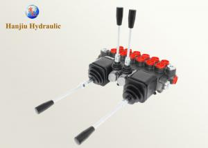 21 GPM 4 Spool Directional Control Valve , Hydraulic